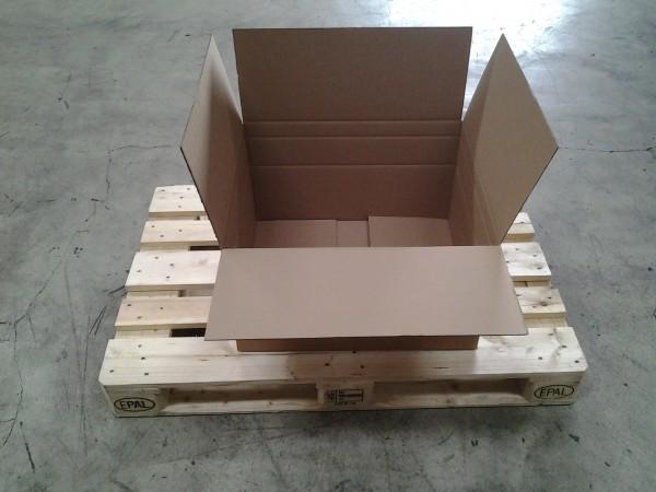 Faltkarton 600 x 500 x 345 mm W2