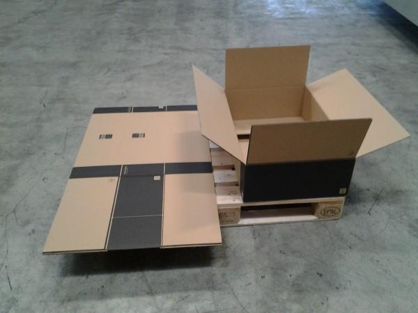 Faltkarton 810 x 505 x 205 mm W2
