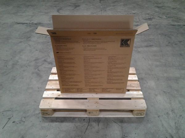 Faltkarton 780 x 130 x 780 mm W2