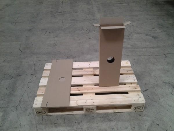 Faltkarton 225 x 58 x 730 mm W2
