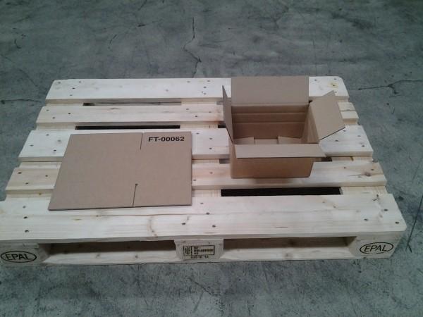 Faltkarton 250 x 167 x 152 mm W2