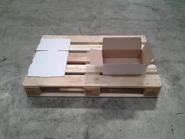 Faltkarton 380 x 236 x 100 mm W1