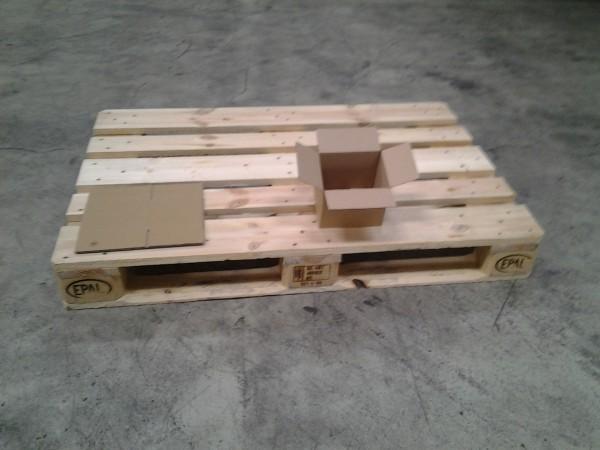Faltkarton 160 x 130 x 134 mm W1