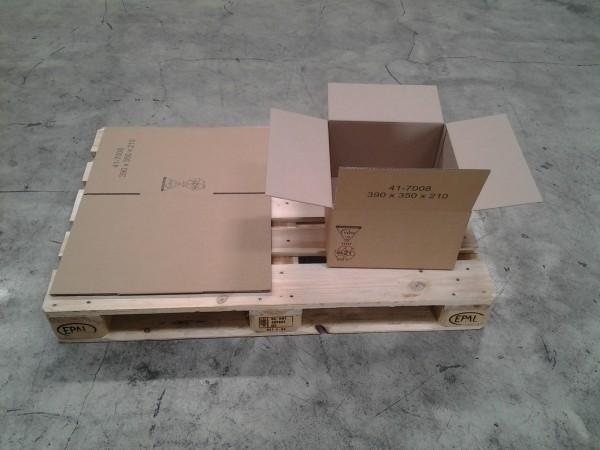 Faltkarton 390 x 350 x 210 mm W1