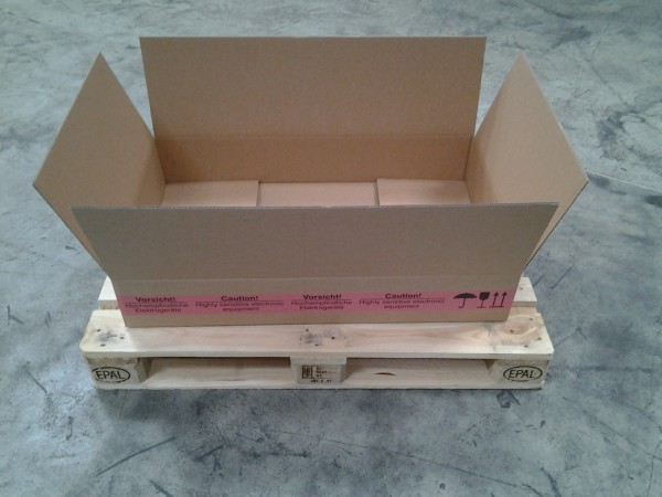 Faltkarton 988 x 588 x 165 mm W2