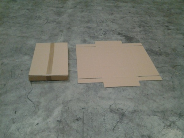 Faltkarton 605 x 380 x 70 mm W2