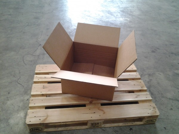 Faltkarton 500 x 500 x 290 mm W2