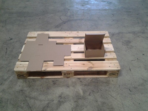 Faltkarton 217 x 167 x 120 mm W1