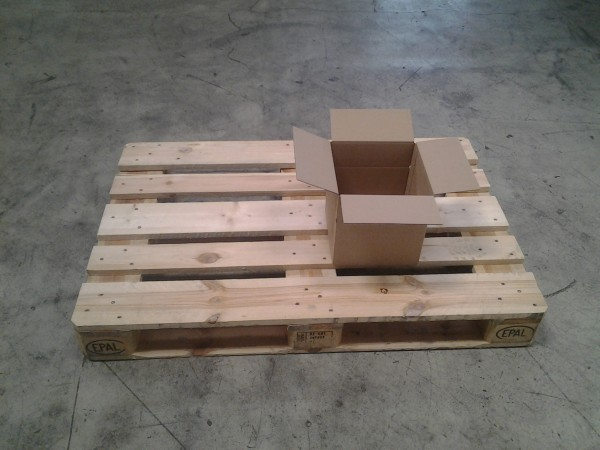 Faltkarton 232 x 232 x 240 mm W1