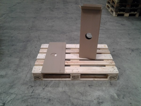 Faltkarton 255 x 55 x 735 mm W1