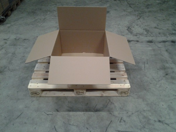Faltkarton 620 x 620 x 380 mm W2