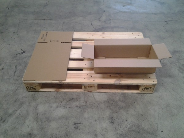Faltkarton 550 x 225 x 140 mm W1