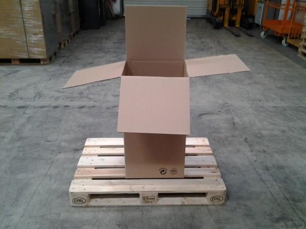 Faltkarton 460 x 400 x 835 mm W2
