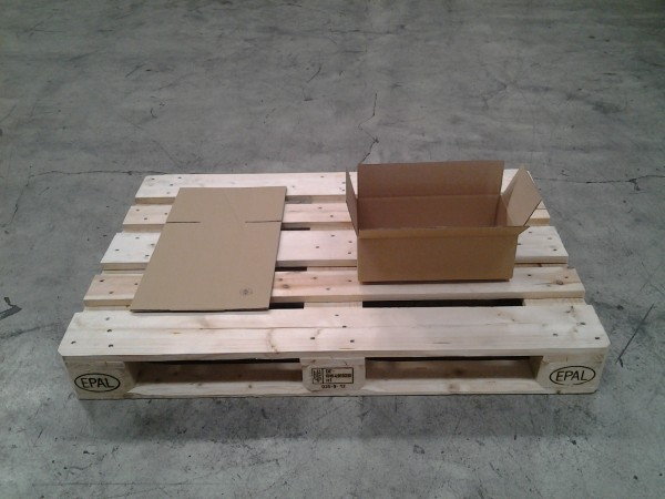 Faltkarton 600 x 95 x 135 mm W2