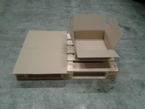 Faltkarton 450 x 450 x 130 mm W2