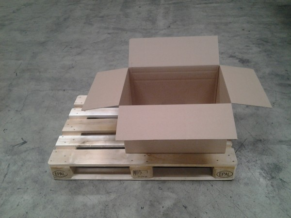Faltkarton 635 x 465 x 365 mm W1