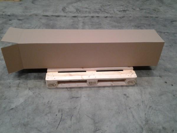 Faltkarton 385 x 375 x 1850 mm W2