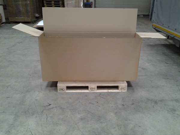 Faltkarton 1640 x 390 x 770 mm W2