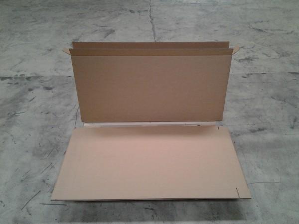 Faltkarton 1270 x 80 x 625 mm W2
