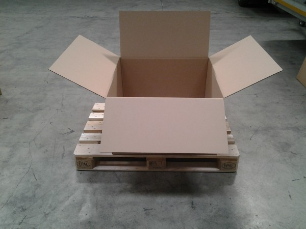 Faltkarton 750 x 750 x 440 mm W2