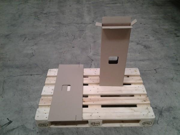 Faltkarton 270 x 60 x 765 mm W1