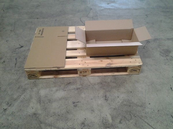 Faltkarton 540 x 233 x 150 mm W1